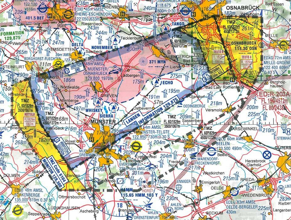 Gibt es Luftverkehrsregeln?